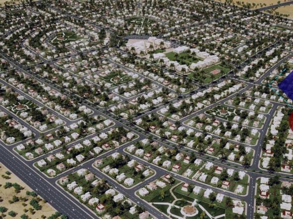 """وزير الإسكان يقر بموقف المرافق العامة وتسليم الاراضي في منطقة """"بيت الوطن"""""""